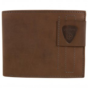 Strellson Herrenbörse Richmond dark brown Billfold H6