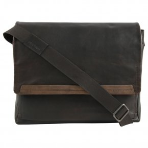 Strellson CAMDEN LHF dark brown Messenger