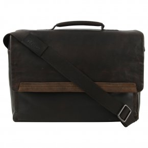 Strellson CAMDEN MHF Messenger dark brown