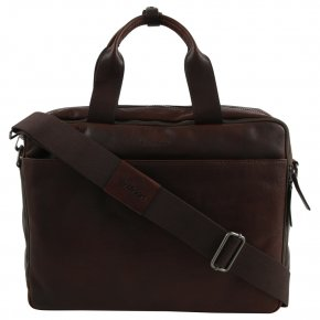 Strellson Coleman 2.0 dark brown briefbag