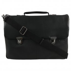 Strellson Garret L black HF briefbag