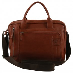 Strellson Upminster cognac briefbag