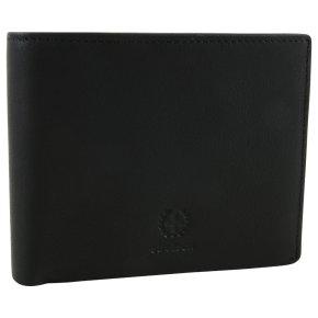 Strellson blackwall billfold h8 RFID Herrenbörse black