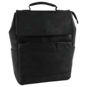 Strellson hyde park black backpack