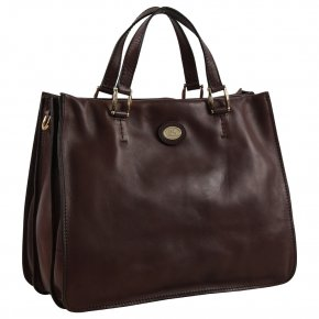 the bridge Business Bag marrone cenere