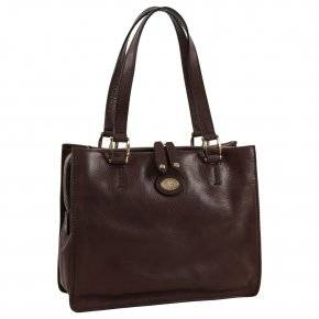 the bridge Henkeltasche Bauletto marrone braun