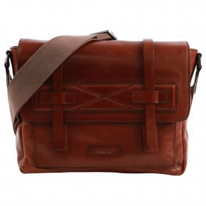 the bridge Laptoptasche ruthenium/braun
