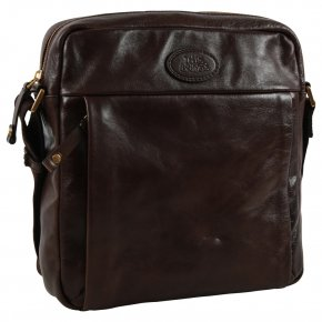 the bridge Messenger Bag mit I-Pad Fach testa di moro