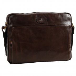 the bridge Messenger Bag mit Laptopfach testa di moro