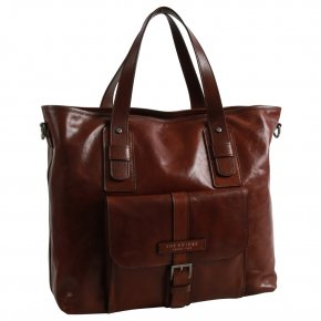 the bridge Businessbag Rindleder braun