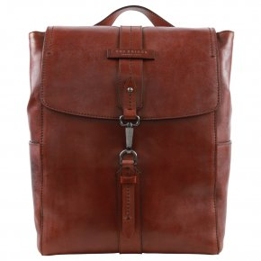 the bridge Rucksack Feinleder braun