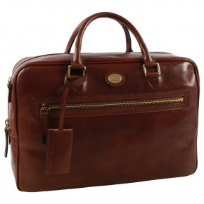 the bridge Businessbag braun