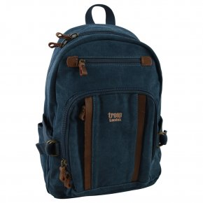 Troop London Backpack M Canvas blue