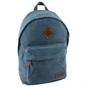 Troop London Backpack Canvas blue