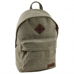Troop London Backpack Canvas khaki