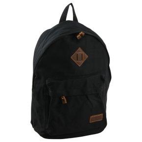 Troop London Backpack Canvas black