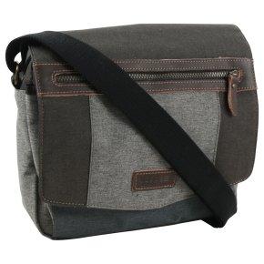 Troop London Messengerbag Laptop Canvas grey