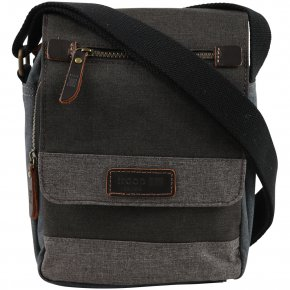 Troop London Across Body Bag  Canvas grey
