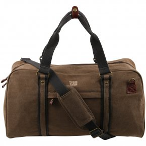 Troop London Duffle Bag  Canvas brown