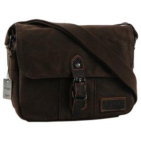 Troop London Shoulder bag dark brown