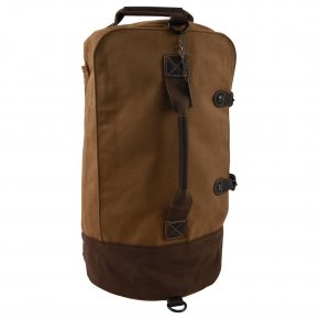 Troop London Weekender/Backpack  Canvas camel