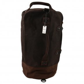 Troop London Weekender/Backpack  Canvas dark brown