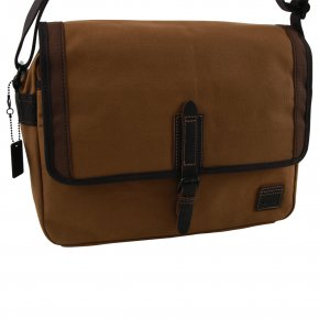 Troop London Across Body Bag Canvas camel