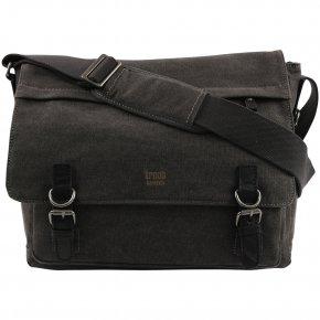 Troop London Messengerbag Laptop  Canvas black