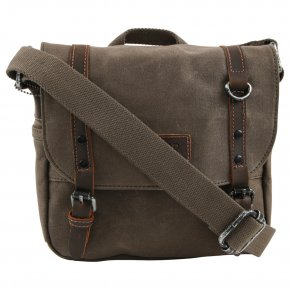 Troop London Messengerbag olive