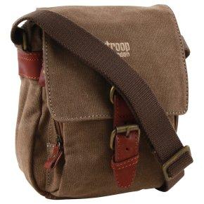 Troop London Across Body Bag Canvas brown