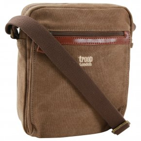 Troop London Across Body Bag Canvas brown
