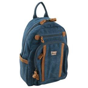 Troop London Backpack S Canvas blue