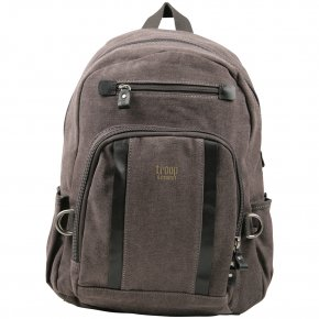 Troop London Backpack M Canvas black