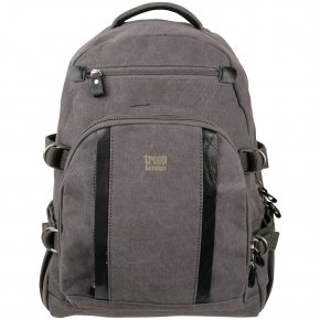 Troop London Backpack L Canvas black