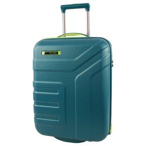 Travelite Vector 2w S Trolley petrol/limone