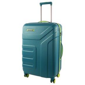 Travelite Vector 4w M Trolley petrol/limone