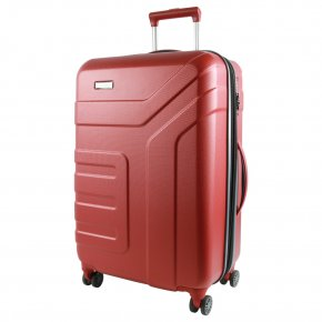 Travelite Vector 4w M Trolley koralle
