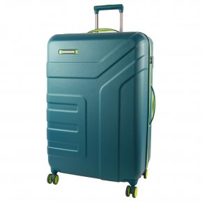 Travelite Vector 4w L Trolley petrol/limone