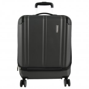 Travelite City 4w S  Trolley mit Vortasche anthrazit
