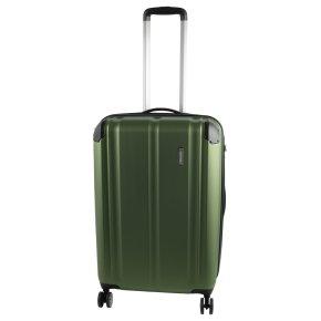 Travelite City 4w M Trolley grün