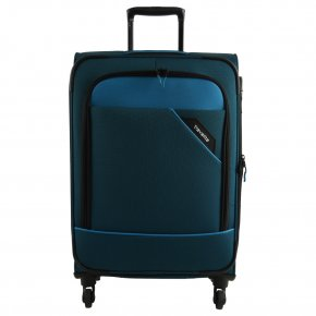 Travelite Trolley M 4w Derby blau