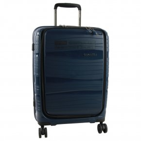 Travelite Motion 4-Rad Trolley S mit Vortasche marine