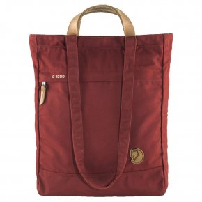 FJÄLLRÄVEN TOTEPACK No.1  L 2in1 Tasche deep red