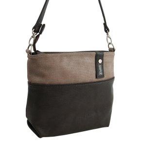 ZWEI JANA 8 Handtasche canvas-brown
