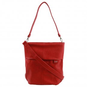 ZWEI Mademoiselle M12 Shoulder Bag red