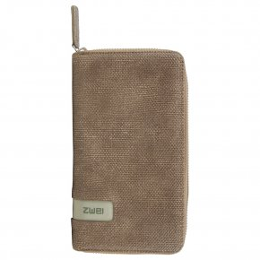ZWEI Madame Wallet canvas-basalt