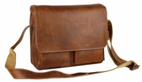 Aunts & Uncles NICK Laptoptasche vintage tan