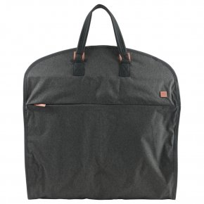 BARBARA grey garment bag