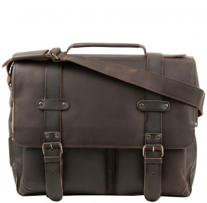 CLARKE Laptoptasche XL vintage brown