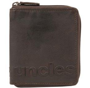 Aunts & Uncles GEORGE Portemonnaie vintage brown Logo